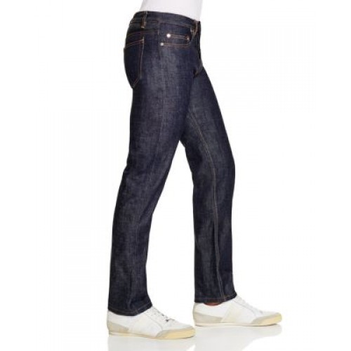 A.P.C. New Standard Straight Fit Jeans in Indigo - 1674256 - Mens Jeans