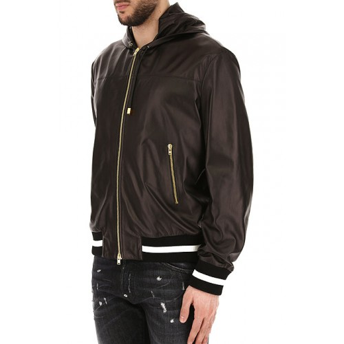 Fausto Puglisi Clothing Men's Spring Summer 2018 444470 Leather Men's Tops - Jackets OLCKMEB