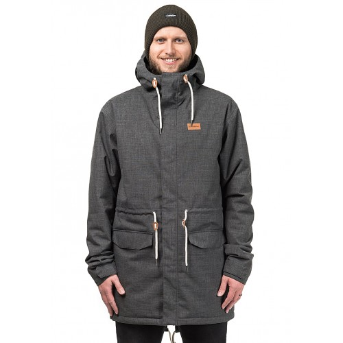 HORSEFEATHERS Loach - Functional Jacket for Men - Grey 100% Polyester 50693601 FGWBDWD