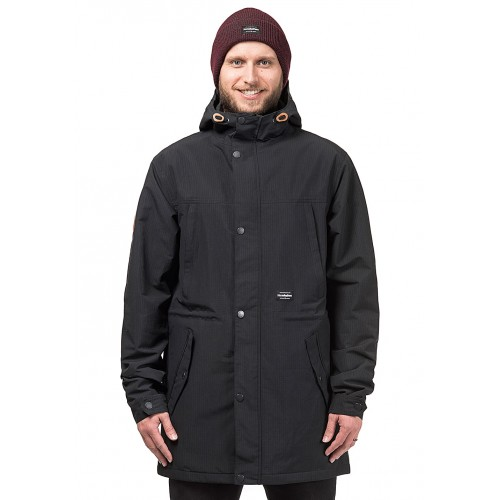 HORSEFEATHERS Porker - Functional Jacket for Men - Black 50693800 OCPECKH