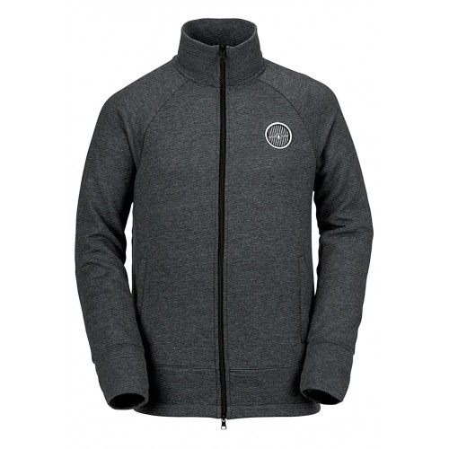Volcom Riding - Functional Jacket for Men - Black 65% Polyester 35% Cotton 50551200 FGBKHYR
