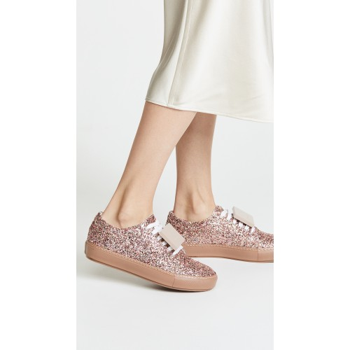 Acne Studios Adriana Spark Sneakers Pink/Multi ACNDB31160 - Womens Sneakers BTTCSWN