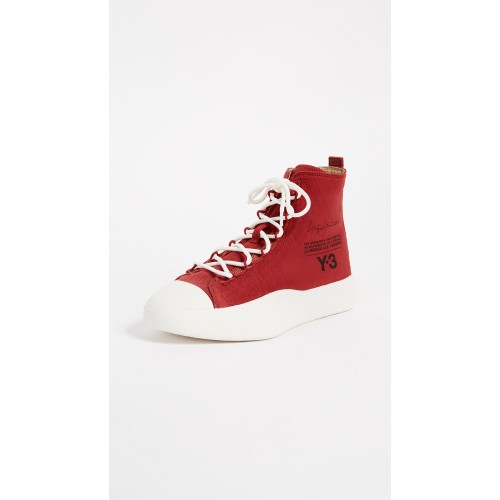 Y-3 Y-3 Bashyo Sneakers Chili Pepper/Black/White YTHRE30461 - Womens Sneakers VZVRBJQ